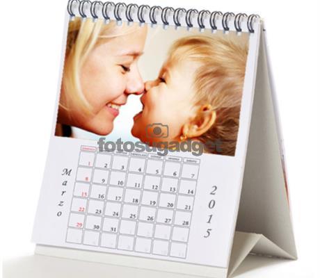 Calendario da tavolo personalizzato con foto ideale per tenere sotto controllo i tuoi - Calendari da tavolo con foto ...