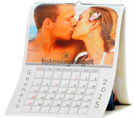Calendario Fotografico Personalizzato.Calendario Personalizzato Con Foto A3 13 Pagine Stampa